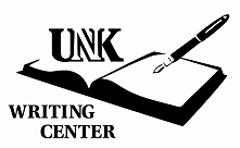 UNK Writing Center logo